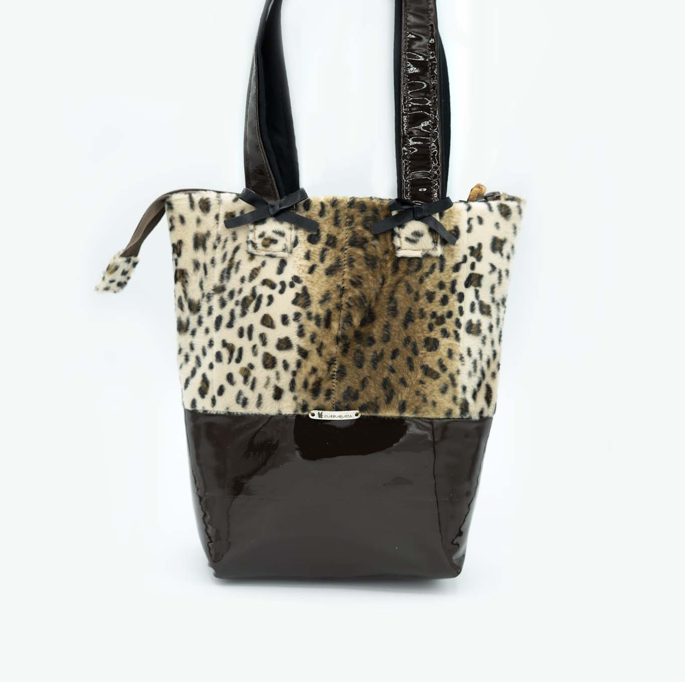 animal print bolso curruqueta